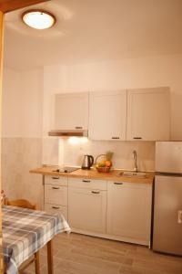 A kitchen or kitchenette at Mljet Sunset Apartments