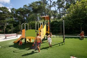 Children's play area at Hôtel Odalys Erromardie
