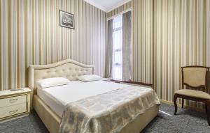 Кровать или кровати в номере Гостиница «Верона»