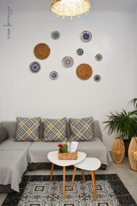 A seating area at Casa terrazzo