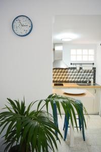A kitchen or kitchenette at Casa terrazzo