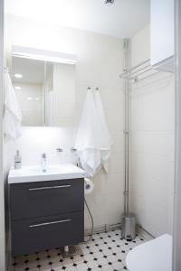 A bathroom at Hotel Amandis