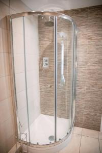 A bathroom at Slate Hall