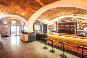 Vstupní hala nebo recepce v ubytování Hotel Mariel Znojmo