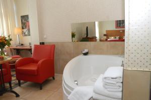 Ein Badezimmer in der Unterkunft Boutique Hotel Schieferhof