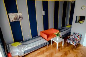 Łóżko lub łóżka w pokoju w obiekcie Centrum 51
