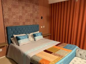 Uma cama ou camas num quarto em Vilaportuguesa