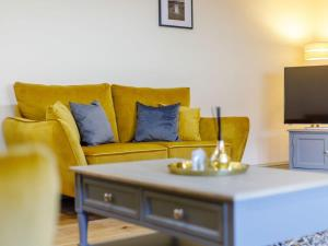A seating area at Corner Cottage