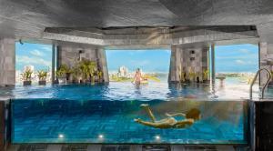 The swimming pool at or close to Haian Riverfront Hotel Da Nang