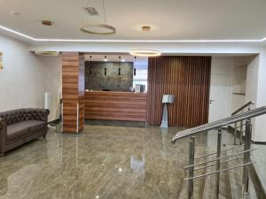 The lobby or reception area at Zul Hotel
