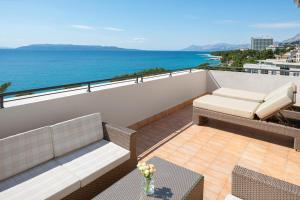 A balcony or terrace at Valamar Meteor Hotel