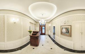 Hol lub recepcja w obiekcie Hotel Kopernik