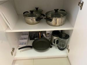 A kitchen or kitchenette at DEPARTAMENTO 3 HAB en GARDEN 360 PIURA
