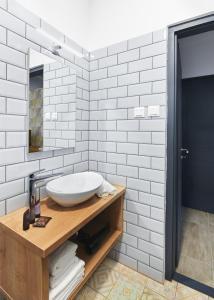 Een badkamer bij Lorelei Pension Adults Only