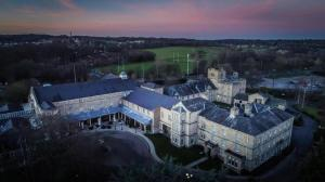A bird's-eye view of Weetwood Hall Estate
