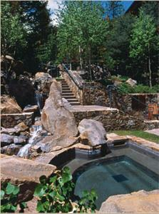 The swimming pool at or near Teton Club