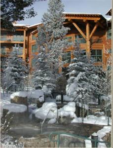 Teton Club during the winter