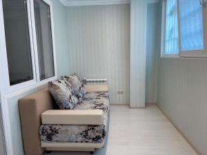 Гостиная зона в Apartment Lenina 10