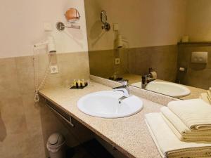 Ein Badezimmer in der Unterkunft Pension Katharinenschule