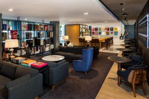 The lounge or bar area at The Edwardian Manchester, A Radisson Collection Hotel