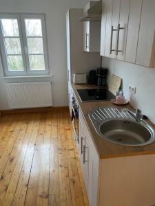 Küche/Küchenzeile in der Unterkunft Ferienwohnungen Jakobsberg