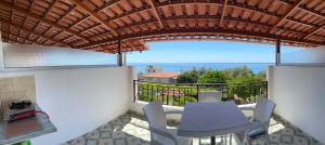 A balcony or terrace at Eljudi House