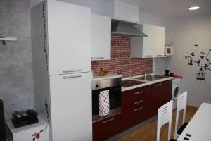 Una cocina o zona de cocina en Apartamento Miralrio