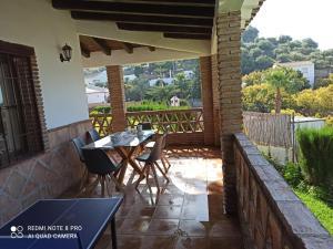 En balkong eller terrass på Villa Damián