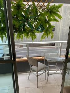 A balcony or terrace at Brisa do Mar Apartments