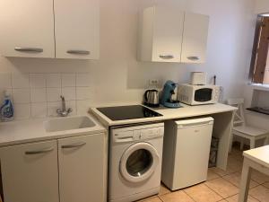 A kitchen or kitchenette at Panier