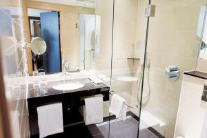 Et badeværelse på Hotel Brandan