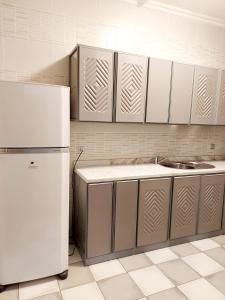A cozinha ou cozinha compacta de Hilion Hotel Apartments