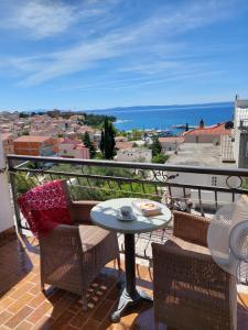 Balkón nebo terasa v ubytování Apartments Matić