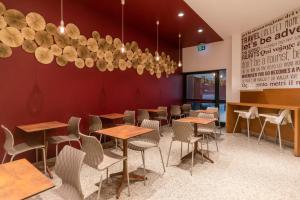 Εστιατόριο ή άλλο μέρος για φαγητό στο B&B Hotel Milano San Siro