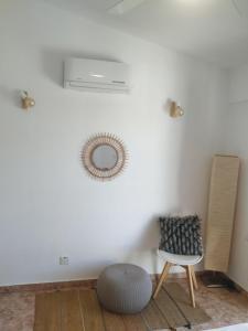 Coin salon dans l'établissement Melanos Residence 2 bdrm townhouse with private pool