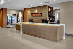 The lobby or reception area at Hyatt House Atlanta Cobb Galleria
