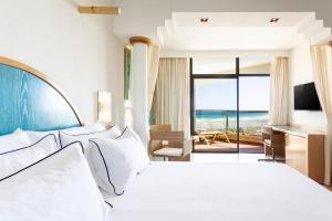 Letto o letti in una camera di Meliá Fuerteventura