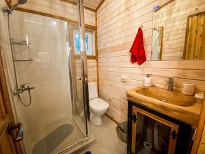 Ванная комната в База Отдыха Бабин Двор