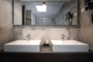 A bathroom at Hotel Cittar