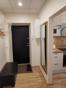 A bathroom at Majaka Apartment