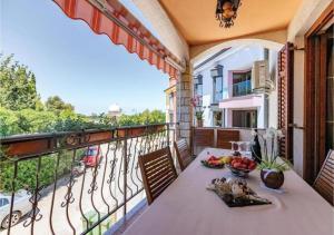 A balcony or terrace at Adria Vrsar