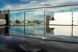 The swimming pool at or near Luxury Penthouse in the heart of the City