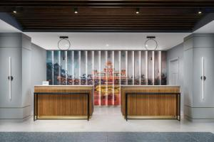 The lobby or reception area at Courtyard Orlando Lake Buena Vista at Vista Centre - - Newly Redesigned