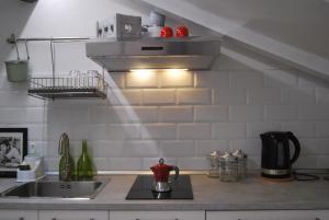 A kitchen or kitchenette at Tourist House Bologna