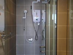 A bathroom at Aeropod Studio - Laxzone