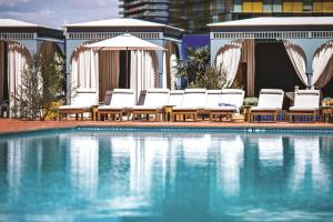 The swimming pool at or near NoMad Las Vegas