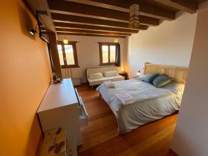Cama o camas de una habitación en Markiola