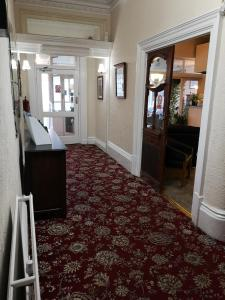 The lobby or reception area at Rockcliffe Hotel