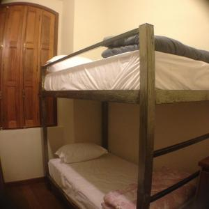 A bunk bed or bunk beds in a room at Hostel Matilda