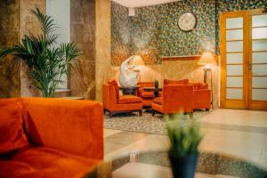 A seating area at Metropolitan Old Town Hotel - Czech Leading Hotels